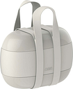 Alessi Food à porter lunch box, light grey