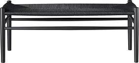 FDB Møbler J83B bench, black