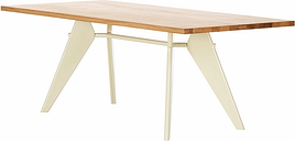 Vitra Em Table 240 x 90 cm, oak - ecru