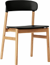 Normann Copenhagen Herit chair, oak - black