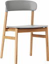 Normann Copenhagen Herit chair, oak - grey
