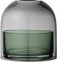 AYTM Tota tealight lantern, black - green