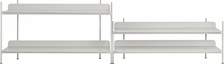 Muuto Compile shelf, Configuration 5, grey