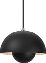 &Tradition Flowerpot VP1 pendant, matt black