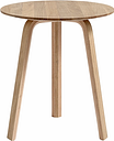 Hay Bella coffee table 45 cm, high, matt lacquered oak