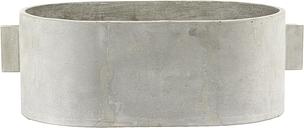 Serax Concrete plant pot oval, 55 x 36 cm, grey