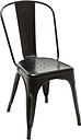 Tolix A chair, black