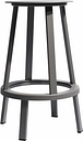 Hay Revolver bar stool, grey