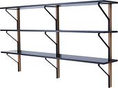 Artek Kaari wall shelf REB 008, black - oak