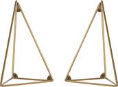 Maze Pythagoras brackets 2 pcs, brass