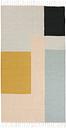 Ferm Living Kelim rug, Squares, 80 x 140 cm