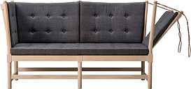 Fredericia Spoke-Back sofa, soaped oak - Canvas 174