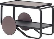 Artek Aalto tea trolley 901, all black