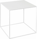 By Lassen Twin 35 table white, white/oak