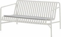 Hay Palissade seat cushion for lounge sofa, sky grey