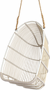 Sika-Design Renoir Exterior swing chair with cushion, white