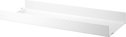 String Furniture String metal shelf, 78 x 30 cm, high, white