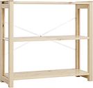 Lundia Classic open shelf, low, natural