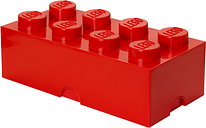 Room Copenhagen Lego Storage Brick 8, red