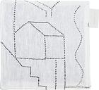 Saana ja Olli Unien talo pot holder/trivet, white
