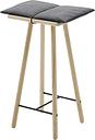 Skagerak Georg bar stool, low, oak
