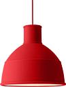 Muuto Unfold lamp, dusty red
