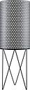GUBI Pedrera floor lamp, black