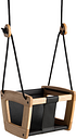 Lillagunga Lillagunga Toddler swing, oak - black seat