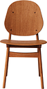 Warm Nordic Noble chair, teak oiled oak