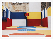 Paper Collective Cities of Basketball 03 (Paris) poster