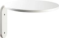 Muoto2 Turn wall shelf, white