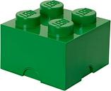 Room Copenhagen Lego Storage Brick 4, green