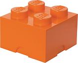 Room Copenhagen Lego Storage Brick 4, orange