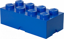 Room Copenhagen Lego Storage Brick 8, blue
