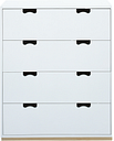 Asplund Snow A chest of drawers