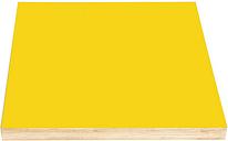 Kotonadesign Noteboard large square, yellow