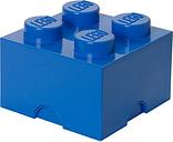 Room Copenhagen Lego Storage Brick 4, blue