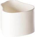 Artek Riihitie plant pot A, small, white gloss