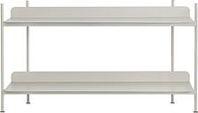 Muuto Compile shelf, Configuration 1, grey