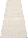 Pappelina Mono rug, 85 x 260 cm, linen - vanilla