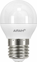 Airam LED deco bulb 6W E27 480lm, dimmable