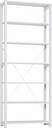Lundia Classic open shelf, high, white