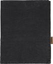 Langø Pillowcase, linen, black