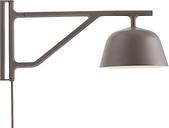 Muuto Ambit wall lamp, taupe