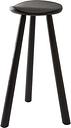 Nikari Classic stool 64 cm, black