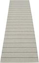 Pappelina Carl rug 70 x 270 cm, grey - fossil grey