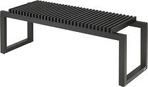 Skagerak Cutter bench, black
