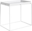 Hay Tray table rectangular, white