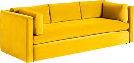 Hay Hackney sofa, 3-seater, Lola yellow