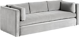 Hay Hackney sofa, 3-seater, Lola warm grey